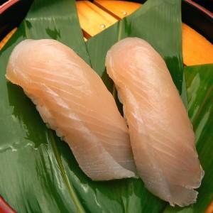 カマスサワラ 黒酢の寿司京山