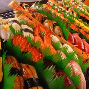 東京湾大華火祭 出前 寿司