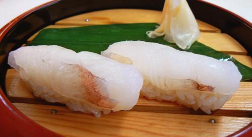 ヤガラの寿司
