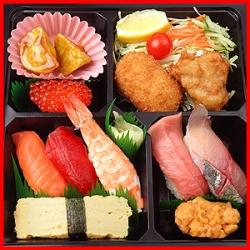 七五三 宅配寿司 お祝い